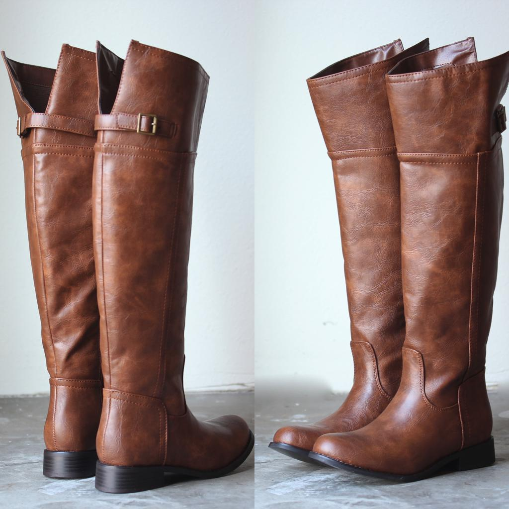 Tall Brown Boots For Women - Cr Boot