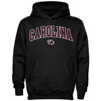 South Carolina Gamecocks Youth Midsized Pullover Hoodie - Black