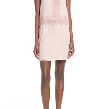 Leith Lace Trim Slipdress | Nordstrom
