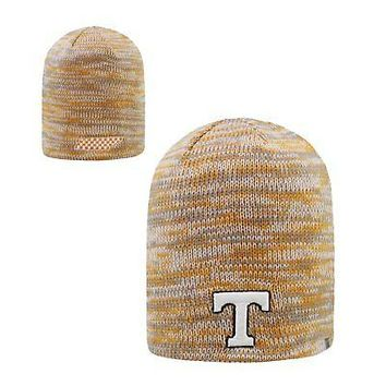 Licensed Tennessee Volunteers NCAA Uncuffed Knit Glaze Beanie Hat Top of the World KO_19_1