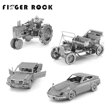 DIY 3D Metal Automobile Desk Models