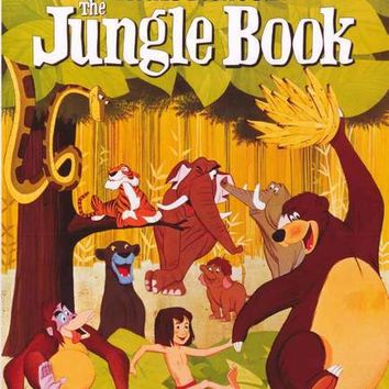 The Jungle Book (1967) Disney Movie Poster 24x36