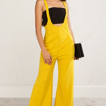 Urban Overall Wide Leg Jumpsuit