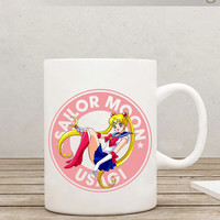 Sailor Moon Usagi Starbucks Anime Manga Ceramic 11oz mug