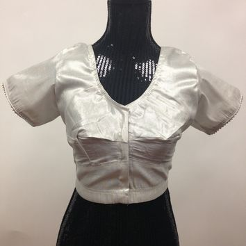 Tissue Blouse - Silver