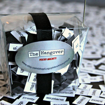 The Hangover Refrigerator Poetry Magnet Game Set (Mature)