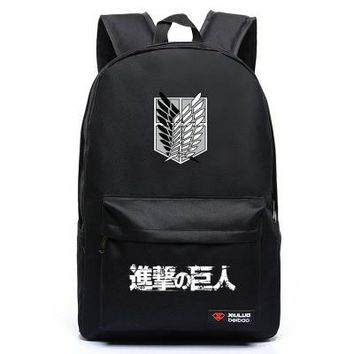 Attack On Titan Anime Backpack 5 Colors