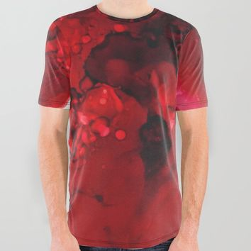 Muladhara (root chakra) All Over Graphic Tee by duckyb