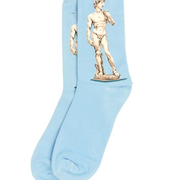 The Statue of David Art Socks