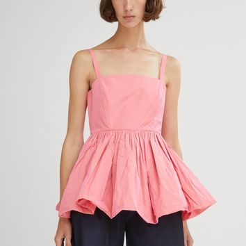 Imogen Sleeveless Taffeta Top by Molly Goddard- La Garçonne