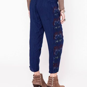 LEAH DUNCAN FEATHER PANTS
