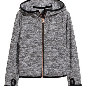 Hooded Sports Jacket - from H&M