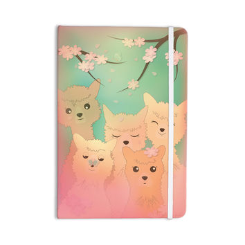 "Graphic Tabby ""Spring Alpacas"" Pastel Animals Everything Notebook"