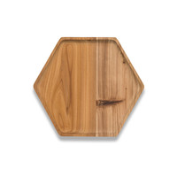 Cedar Wood Hex Tray - Large