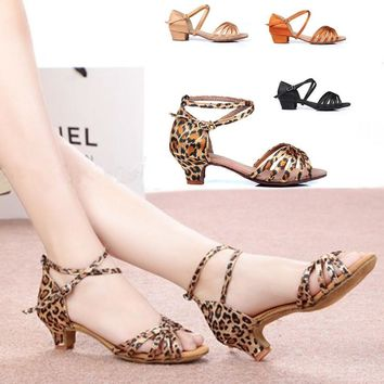 Latin Dance Shoes For Girls Woman Ballroom Dancing Shoes Zapatos Salsa Mujer Zapatos De Baile Latino Mujer Zapatos De Baile WZJ