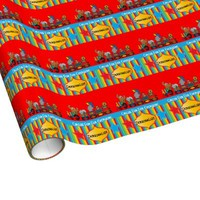Circus Fun Gift Wrapping Paper
