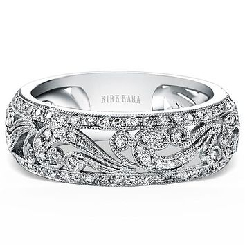 Kirk Kara Angelique Filigree Diamond Anniversary Ring