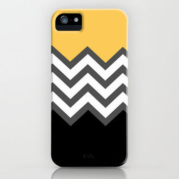 Color Blocked Chevron 6 iPhone & iPod Case by Josrick
