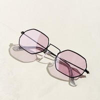 Metal Octagon Sunglasses | Urban Outfitters