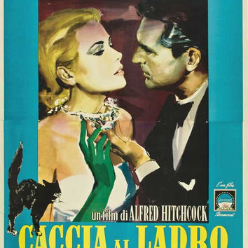 To Catch a Thief (Italian) 11x17 Movie Poster (1955)