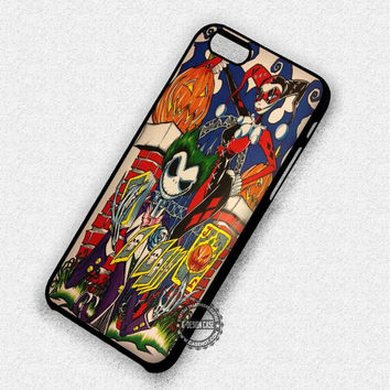 Couple Harley Quinn - iPhone 7 6 Plus 5c 5s SE Cases & Covers