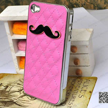 beard leather iphone 5 s case iphone 5 case iphone 4 case iphone 5c case