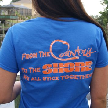 Florida Game Day Series Ladies Short Sleeve Tee