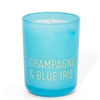 Champagne and Blue Iris Candle