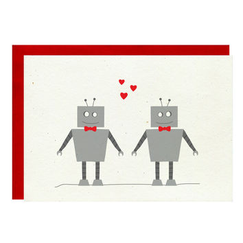 Gay Robot Card
