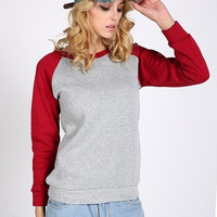 European Style Simple New East Knitting Fashion Women School Sweatshirt Style Casual T-shirts Loose Pullovers One Size = 1946064836