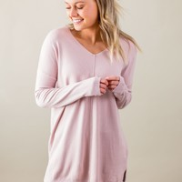 Just What I Need Top-Blush