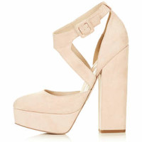 SHELL Asymmetric Platforms - Nude