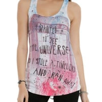 Doctor Who Timelord Girls Tank Top