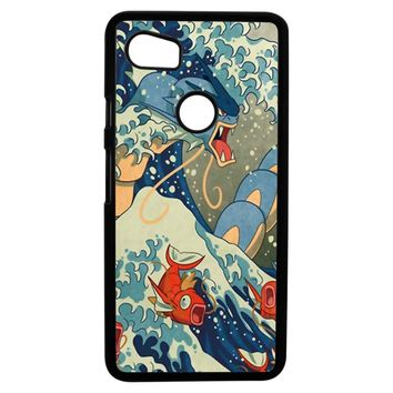 The Great Wave Off Kanto Google Pixel 2XL Case