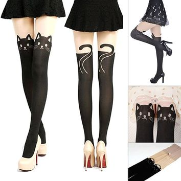 New Sexy Stockings Women Cute Cat Tail Leggings Female Catoon Stocking Sexy Sheer Pantyhose Stockings Long Sexy Stocking P2