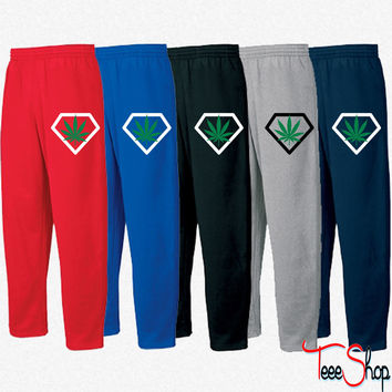 diamant weed Sweatpants
