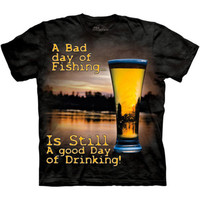 The Mountain DRINK OUTDOOR Funny Beer Drinking Fishing Redneck T-Shirt S-3XL NEW