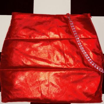 SWEET LORD O'MIGHTY! BRATITUDE PUFFER SKIRT IN RED