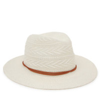 Kendall and Kylie Pattern Knit Panama Hat at PacSun.com