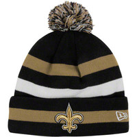 New Orleans Saints Black Sport Cuffed Knit Sideline Hat