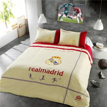 Real Madrid CF Bedding Set Twin Queen Size | EBeddingSets