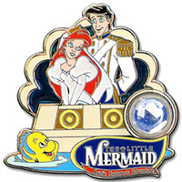 Piece of Disney History The Little Mermaid Pin - Collections By Disney