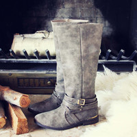 Autumn Frost Boots in Taupe