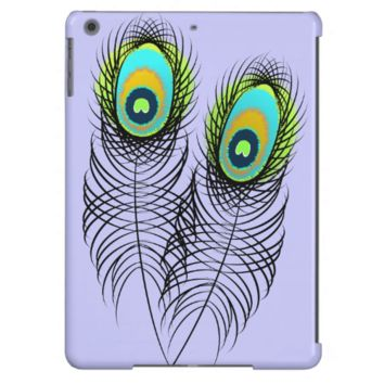Whimsical Peacock Feathers Case For iPad Air