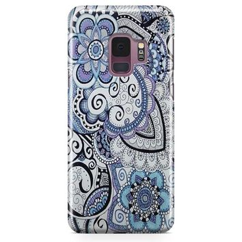 Zentangle Art Flowers Samsung Galaxy S9 Plus Case | Casefantasy