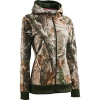 Cabela's: Under Armour® Women's EVO ColdGear® Full-Zip Hoodie