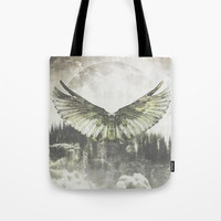 Wilderness in my heart Tote Bag by HappyMelvin