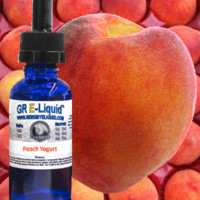 """Peach Yogurt"" Premium E-Liquid"