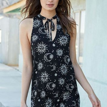 CREYON Kendall and Kylie Necktie Swing Dress