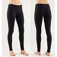 """lululemon"" Trending Women Print Gym Yoga Running Leggings Sweatpants Sport Pants I"